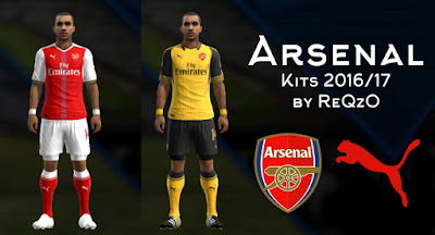 kits Arsenal 2016 - 2017 PES 2013