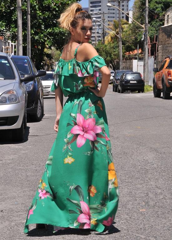 Primavera Verão 2018 Griffe Donna Preta