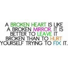 gloomy quotes for broken hearts