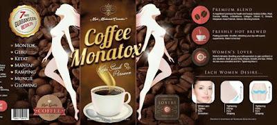 Monatox Coffee - Kopi DMS 360 Untuk Kesihatan Wanita