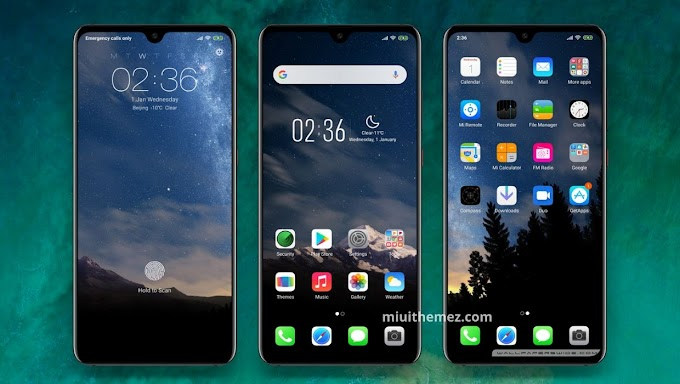 iOS 10 Theme for MIUI 11 Xiaomi Devices
