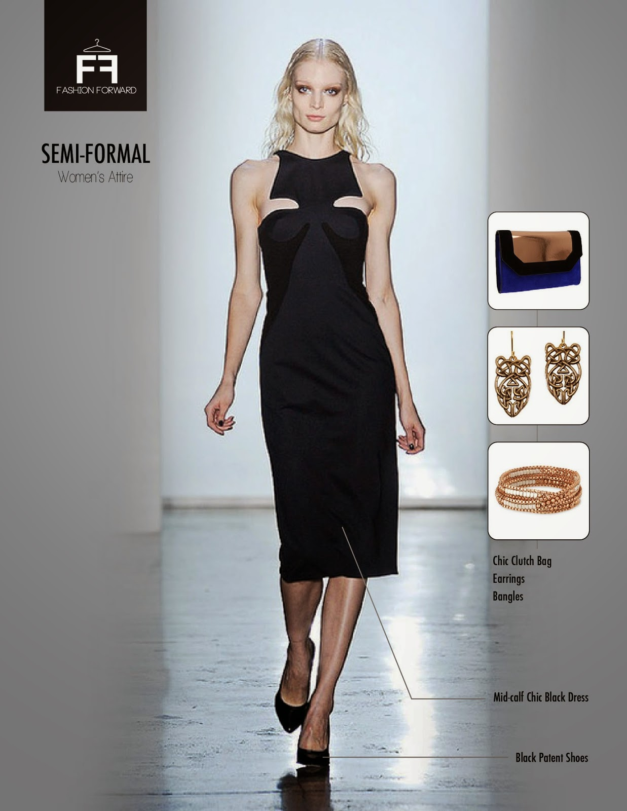 fashion forward semiformal wear for the girls