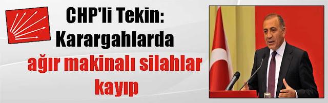 Αγνοούνται μαζικές ποσότητες οπλικών συστημάτων στην Τουρκία