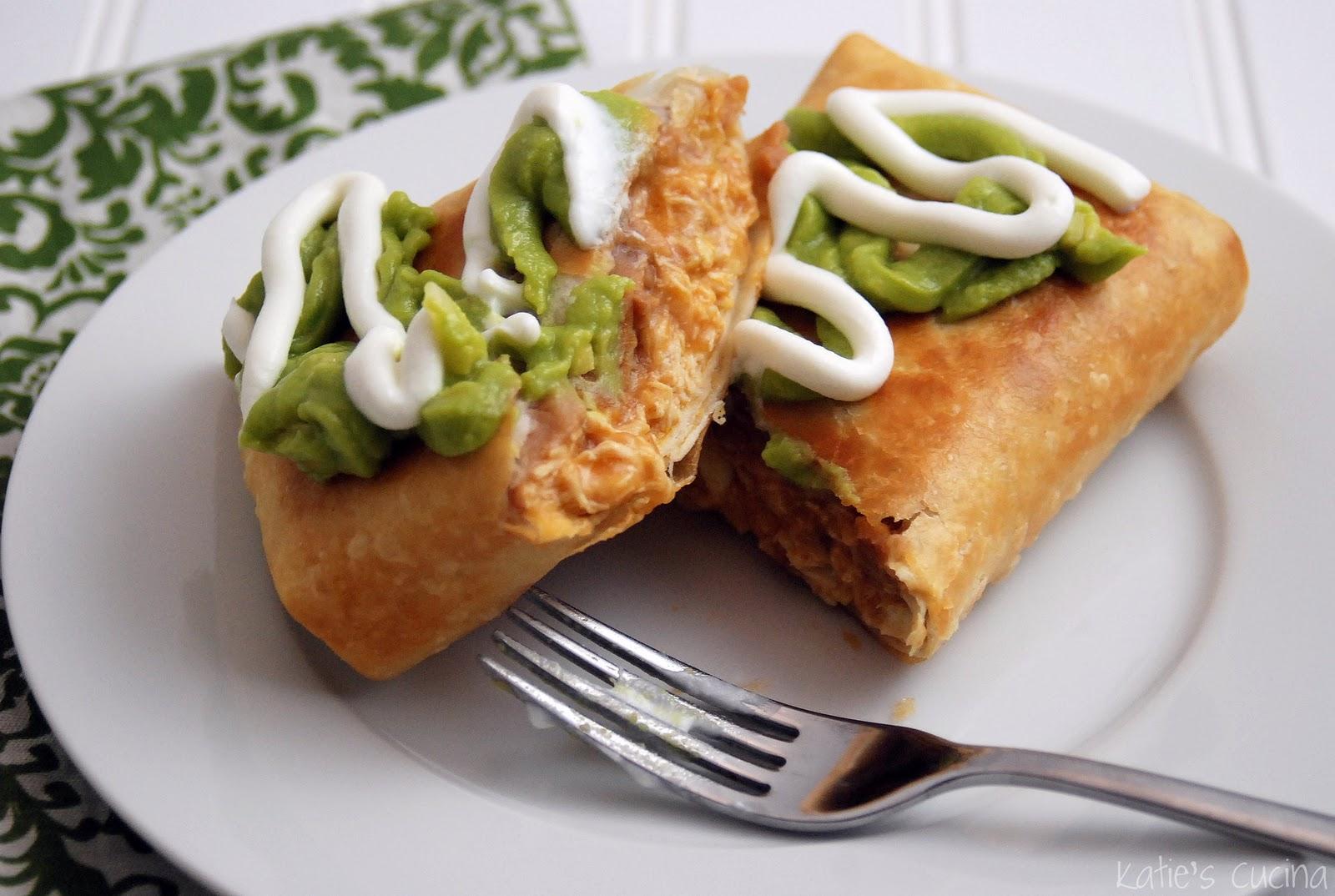 homemade chicken chimichangas katie s cucina
