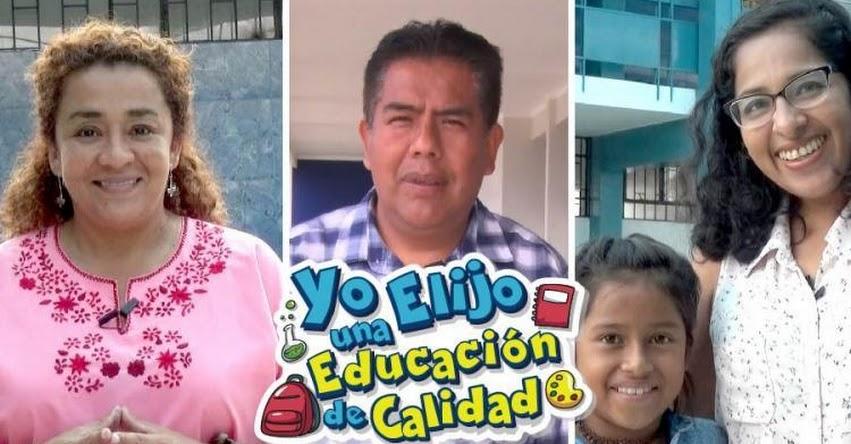 YO ELIJO UNA EDUCACIÓN DE CALIDAD: DRELM Presenta campaña de matrícula 2018 - www.drelm.gob.pe