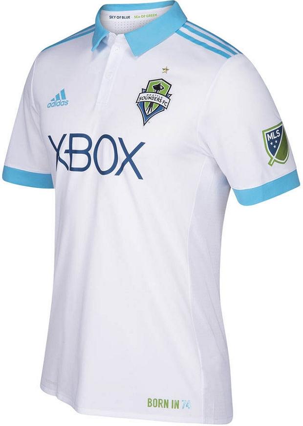 7d1eadef89 Adidas lança a nova camisa reserva do Seatlle Sounders para a MLS 2017