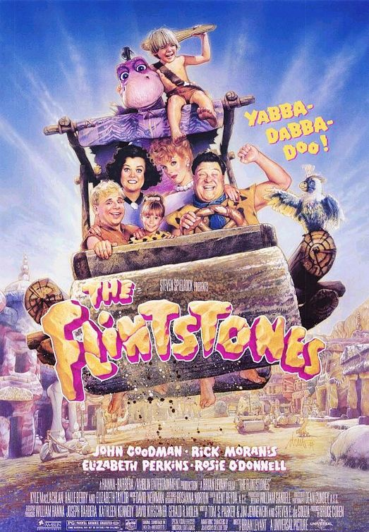 The Flintstones movie poster
