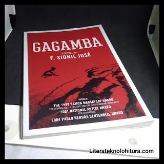 gagamba by f sionil jose front cover art
