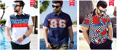 Plus Size Men's Shirts