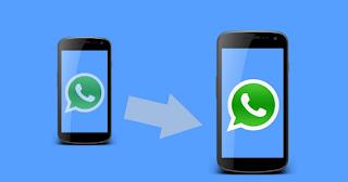 Cara mentransfer / Memidahkan pesan WhatsApp ke ponsel android baru