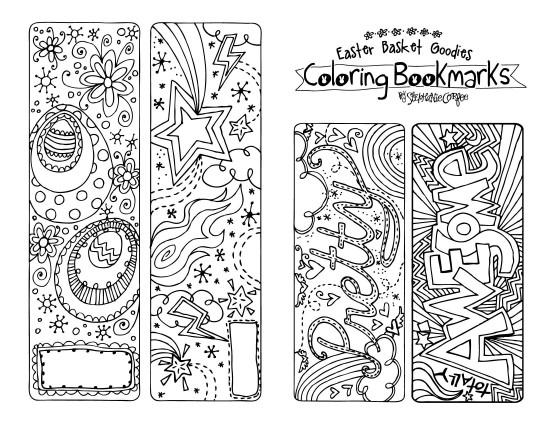 18 darmowych ilustracji do kolorowania kiedy mama nie pi for Book marker template