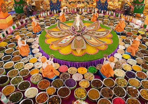 Sanyasi Stealing Gold Plate Food Character