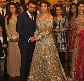 Urwa hocane and farhan Saeed.