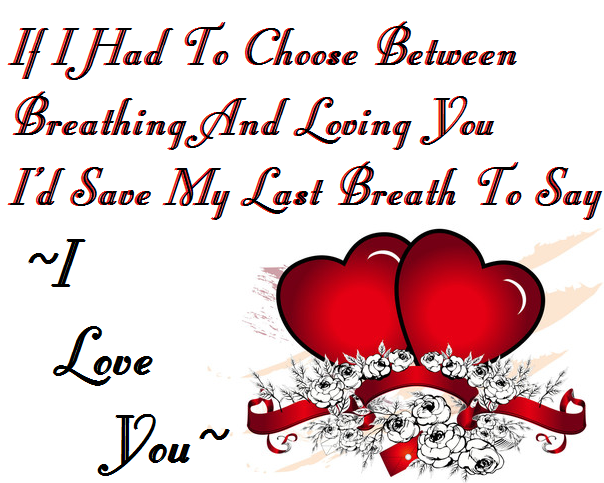 35+ Heart Touching I Love You Quotes