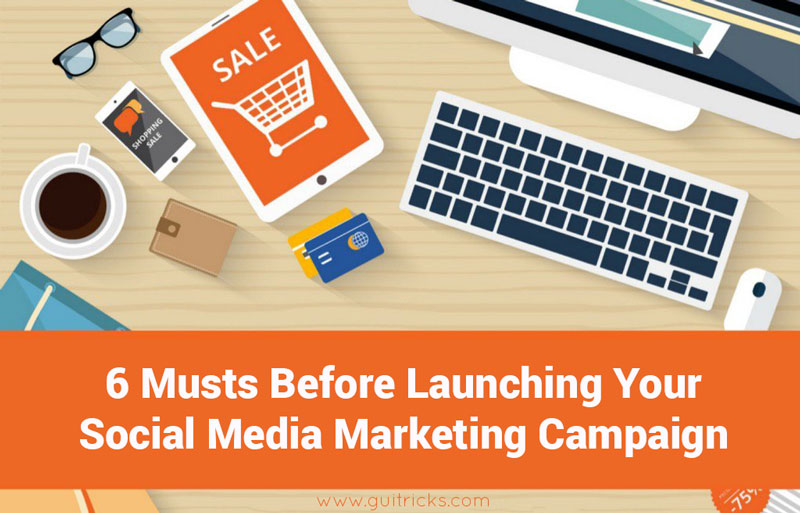 6 Musts Before Launching Your Social Media Marketing Campaign