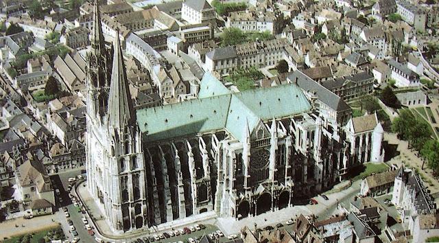 Catedral de Chartres en Francia
