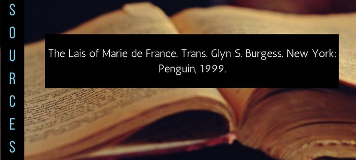 Summary of Marie de France's The Lais of Marie de France Chaitivel Sources