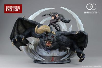 Berserk: Guts & Zodd Vs Ganishka Epic Diorama 1/6 por Oniri Créations