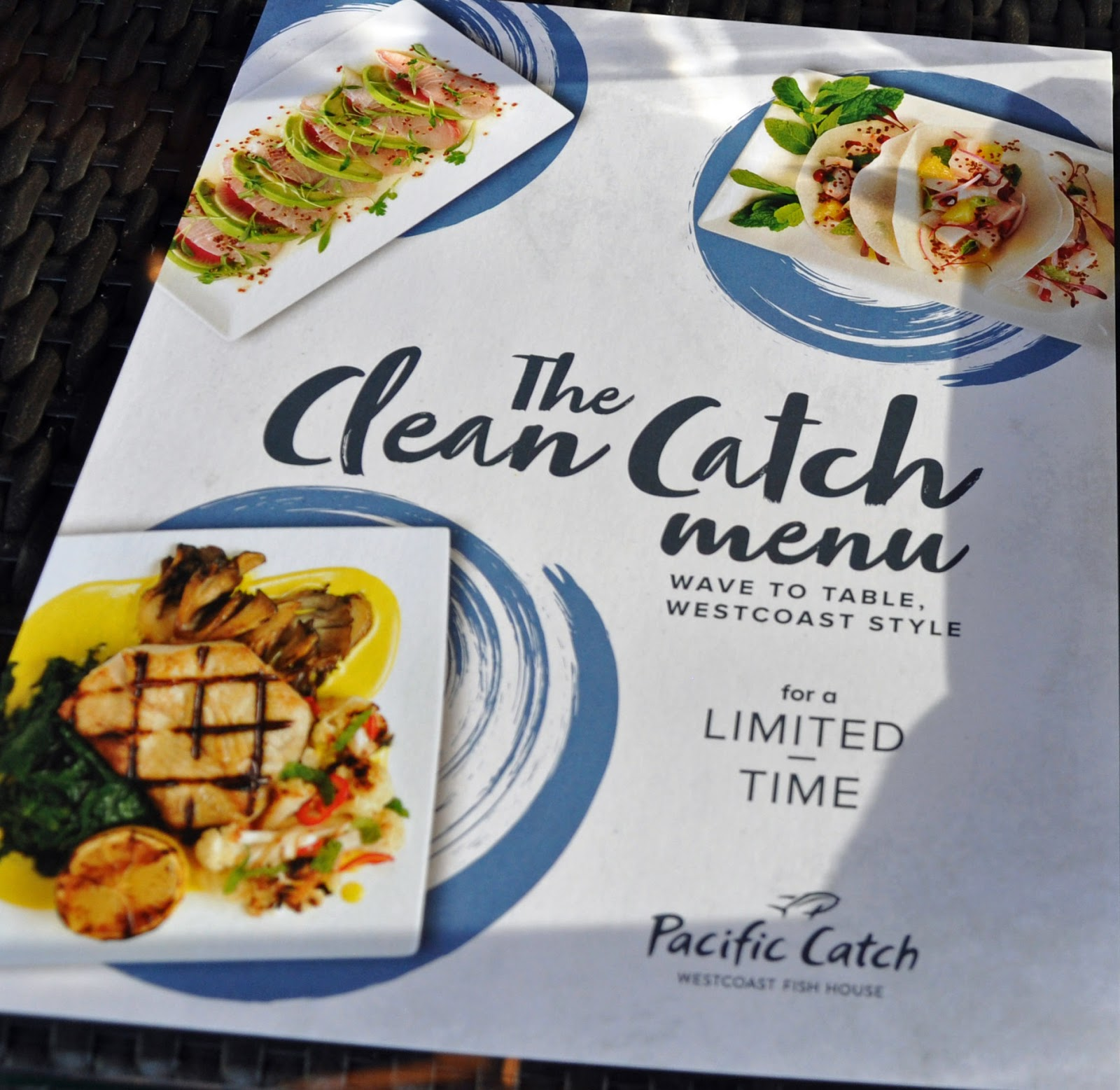 The Clean Catch Menu Indicates Pacific Catch\'s Commitment to ...