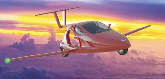 News: World's First Two-Seater Flying Sports Car To Be Commercially Available In 2018