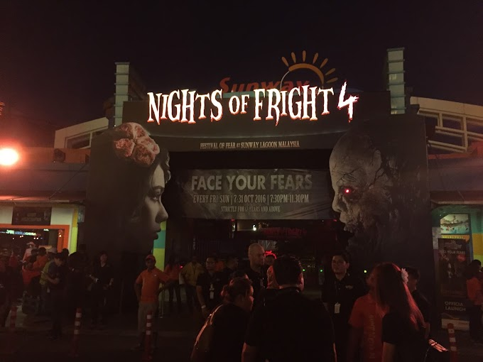 Face Your Fears @ Night of Fright 4, Sunway Lagoon