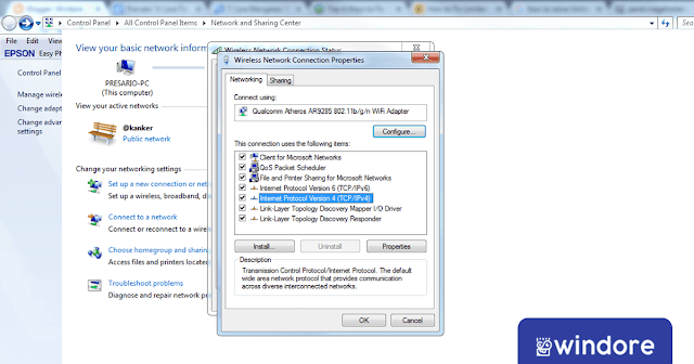 Mengatur Ulang Konfigurasi IP Windows