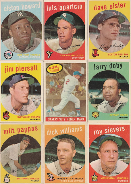 Highly Subjective And Completely Arbitrary Building The 1959 Topps Set