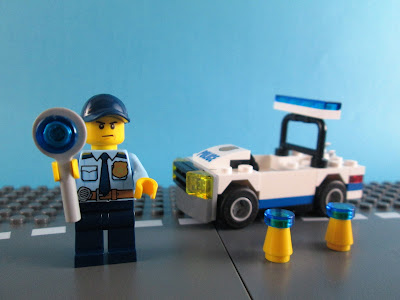 Set LEGO City 30352 Police Car
