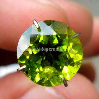 Permata Green Peridot - A463