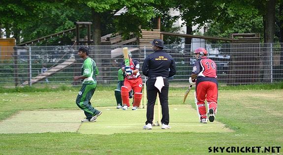 Afghan refugee bring cricket to Germany