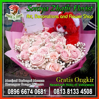 toko bunga tangan di bekasi