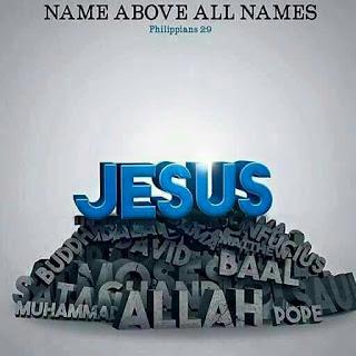 jesus name above all name
