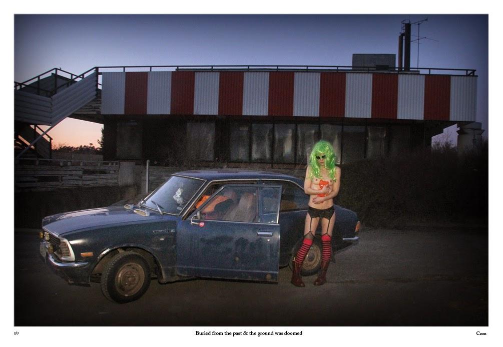 spöken, folktro, ande, väsen, Toyota Corolla KE20, classic car, ratlook