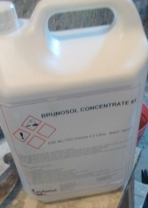Brunosol dry rot treatment