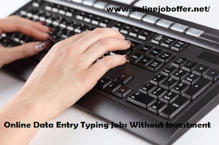 Online Typing Jobs From Home Captcha Entry Work