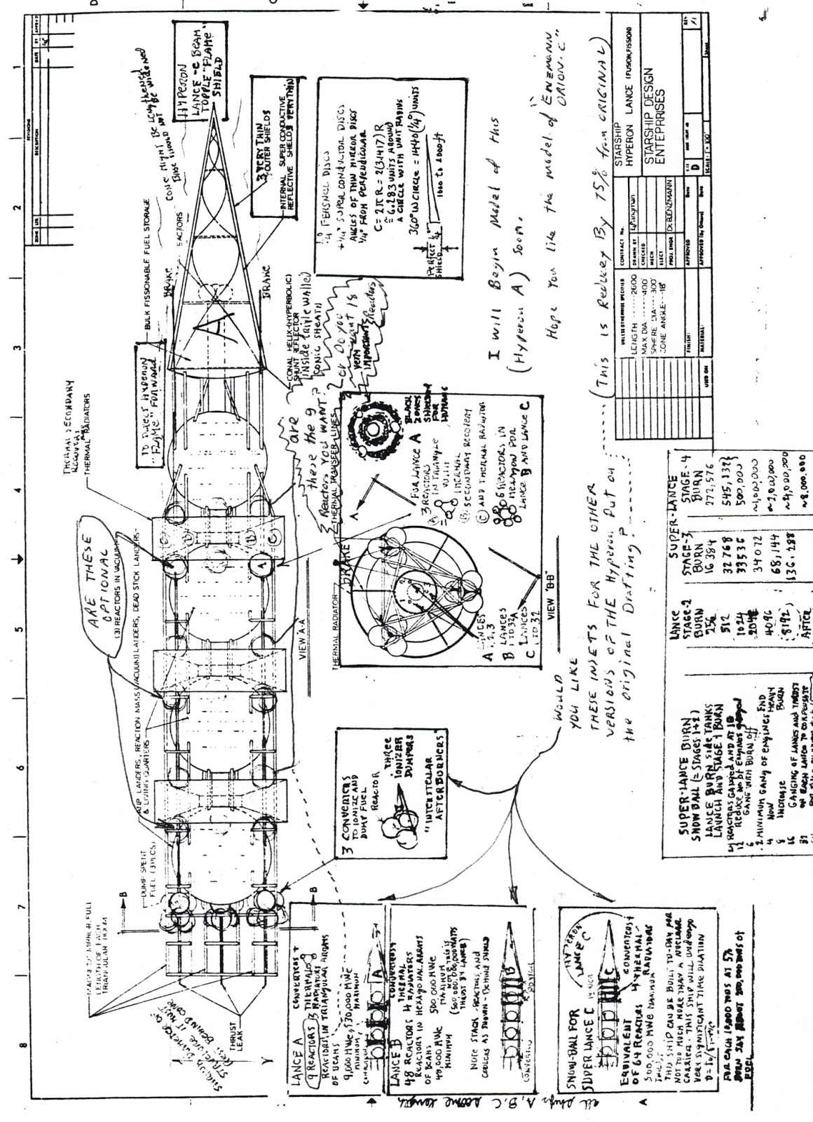 Enzmann Starship Three Doc E Worksheets