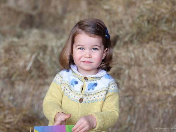 Nowe zdjęcie księżniczki Charlotte!