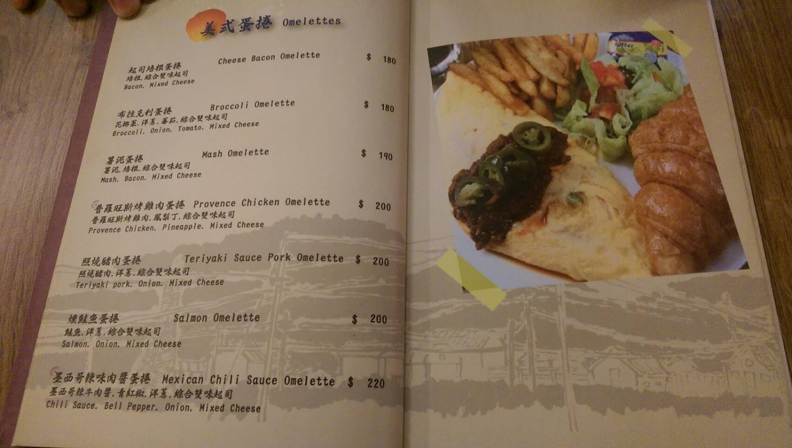 Aniki Burger 阿尼基美式餐廳 菜單