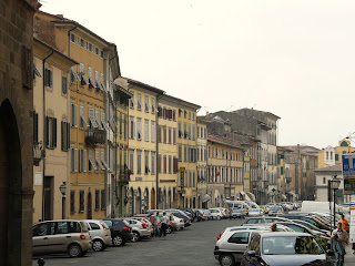 One of the streets in the centre of Pescia, the small town in Tuscany where Giovanni Pacini died in 1867
