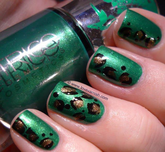Las mejores uñas de colores | Color verde exótico | Moda y ...
