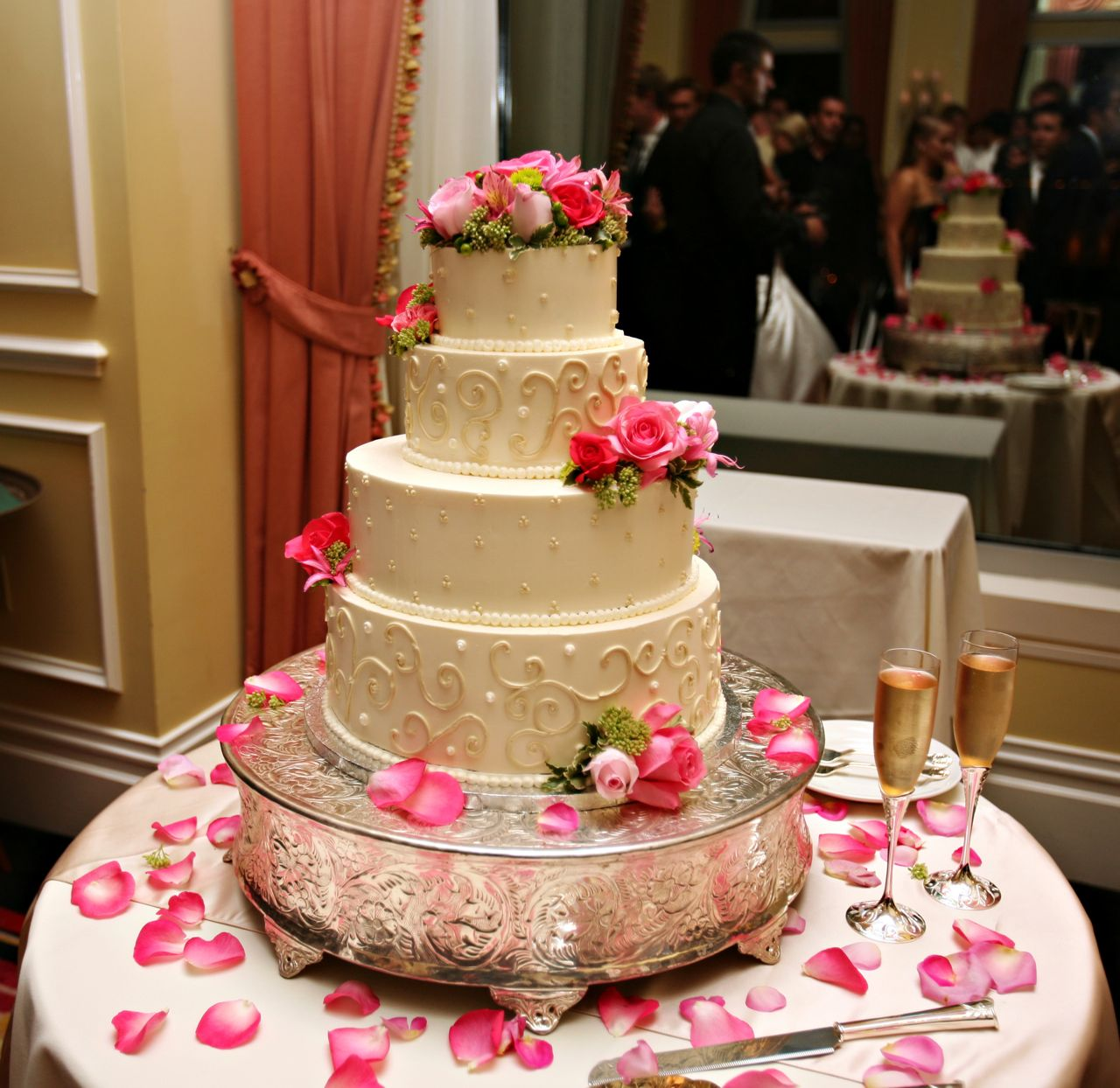 top of wedding cake ideas 15 bolos de casamento lindos para te inspirar amando 21052