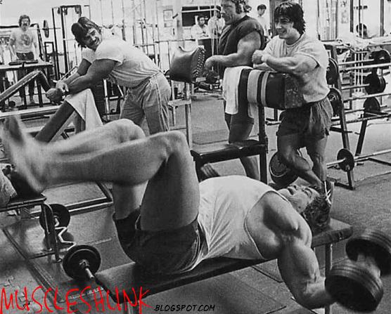 Arnold Schwarzenegger Old School Remembering Photos
