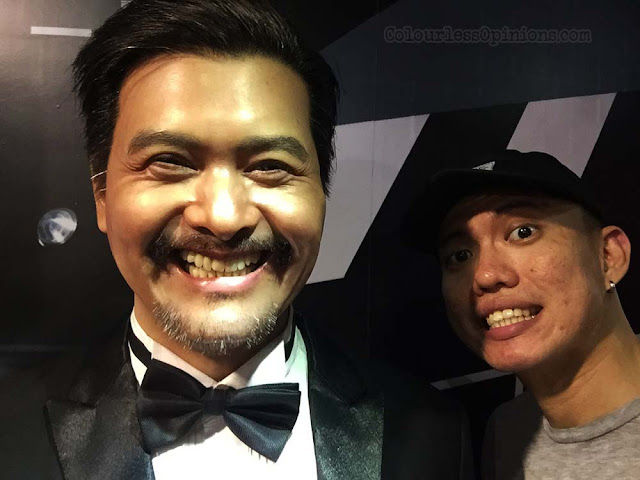 i-city red carpet wax museum malaysia chow yun fatt selfie