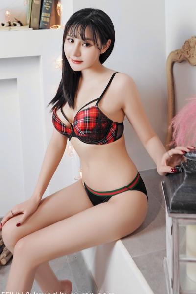 [FEILIN嗲囡囡] 2019-10-09 Vol.210 Celina青妍