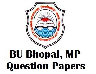 Barkatullah University Model Question Papers