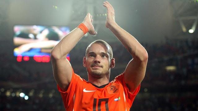 Wesley Sneijder's last match, Holand beat Peru