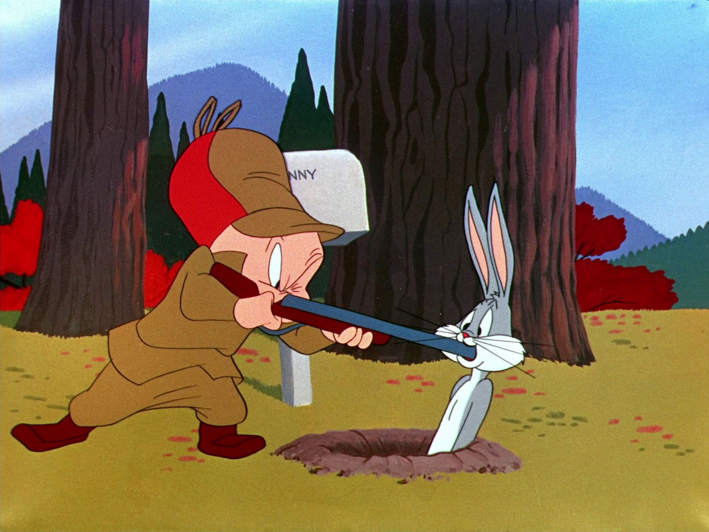 "March Hare Looney Tunes Pictures: ""rabbit Fire"""