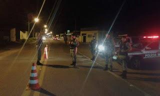 Policiais do 9º Batalhão realizam operação nômade para inibir a criminalidade na região