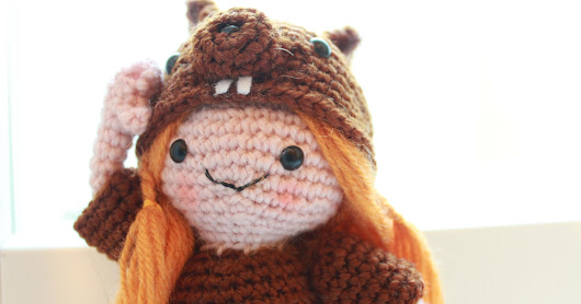 Amigurumi Squirrel Girl free crochet pattern