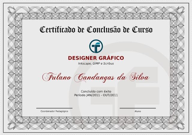 O Espaço Do Software Livre Certificado Modelo Clássico